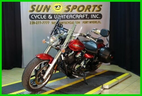 2011 Yamaha V Star Tourer Red photo